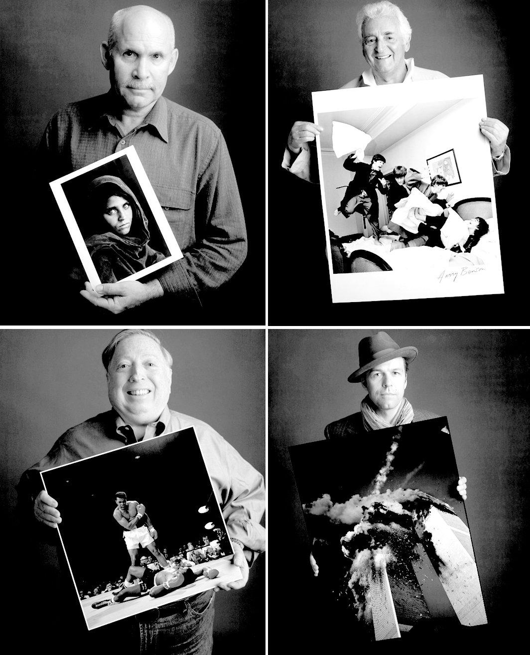 LES CLICHÉS CÉLÈBRES POSENT AVEC LEUR PHOTOGRAPHE dans ART fefezf